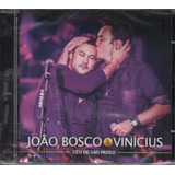 Cd João Bosco E Vinicius   Ceu De São Paulo [ 2016 ]